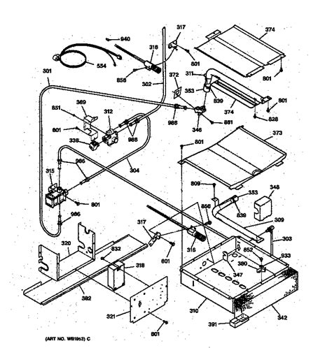 gas stove diagram ge xl44 wiring diagram 22 wiring diagram images wiring