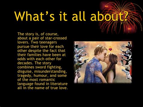 themes of romeo and juliet powerpoint romeo and juliet ppt pres 1