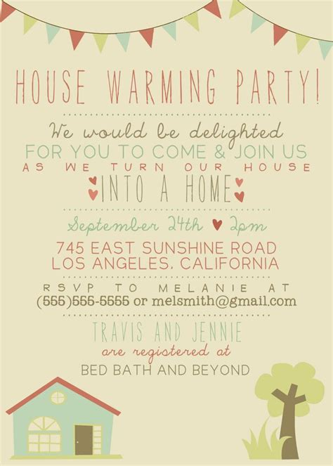 housewarming invitation template 25 best housewarming invitation wording ideas on