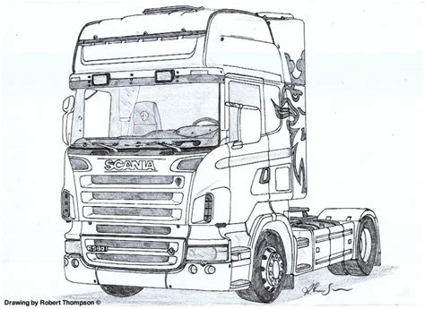 trucks drawings robert thompson truck drawings