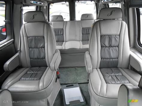 chevy express seats 2002 chevrolet express 1500 passenger conversion rear