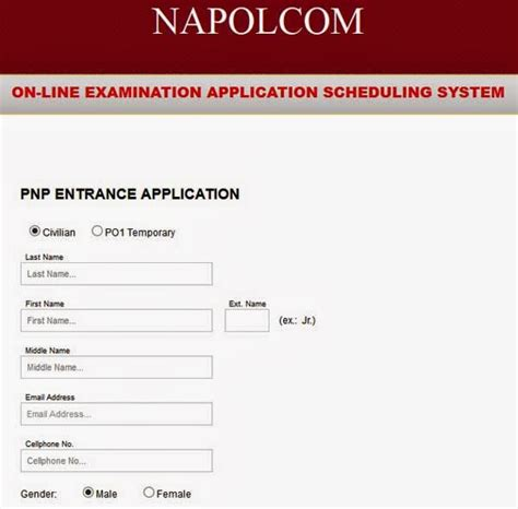 Confirmation Letter Napolcom Napolcom 2014 Application System Website Opens