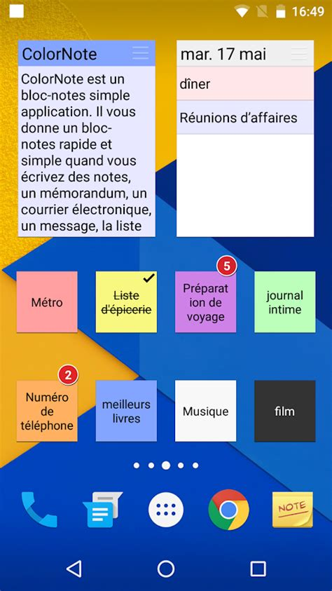 color note for pc colornote bloc notes notes applications android sur