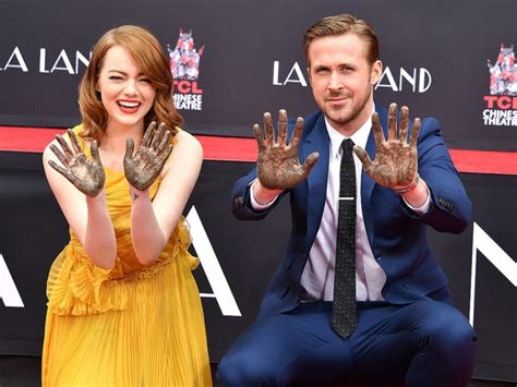 emma stone dating history emma stone and ryan gosling are cemented together in