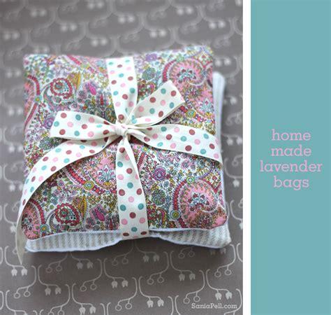 gift idea homemade lavender bags sania pell