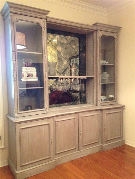 decorative wall furniture custom oak wall unit limed oak finish painted in chalk