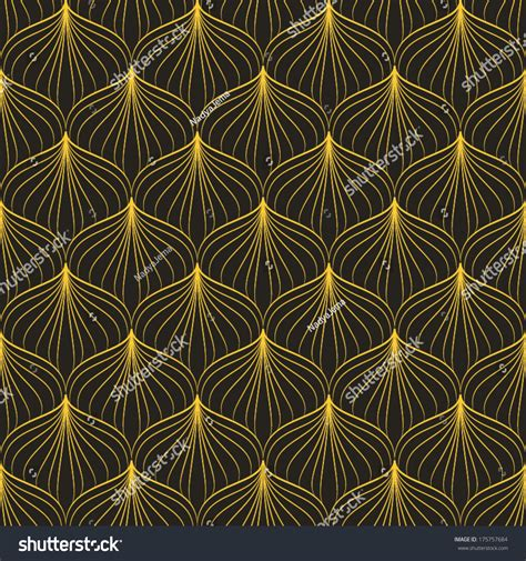texture and pattern in art abstract geometric art deco pattern seamless stock vector