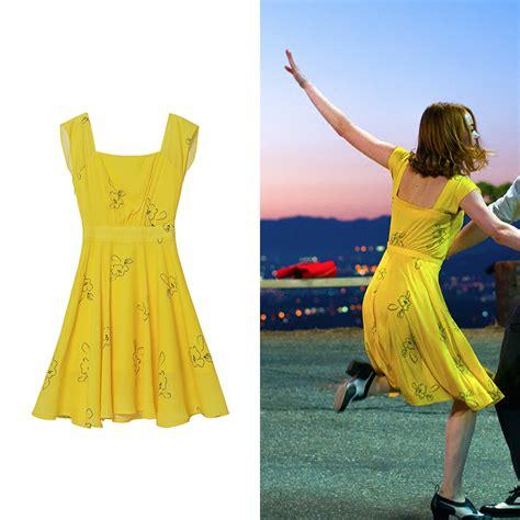 Lala Dress la la land yellow dress fancy dress ebay