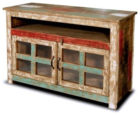 Rustic Entertainment Center Tv Stand Media Console Table Rustic Style Solid Wood 45 Quot Tv Stand Media Console