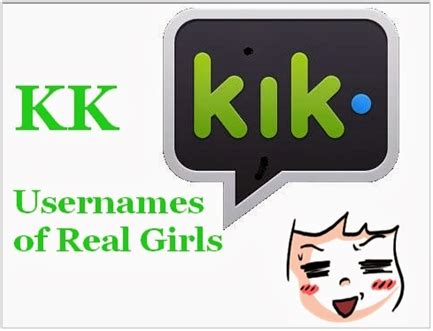 best names for kik how to get and kik names