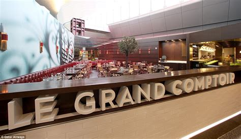 restaurant le grand comptoir is qatar home to the most luxurious airport in the world