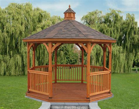 10x10 Wood Gazebo Keystone Gazebos Backyard Beyond