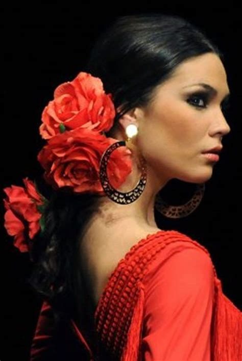 Spanish Dancer Hairstyles | 17 best images about spain dances on pinterest spanish