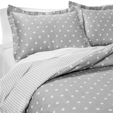 grey and white polka dot comforter dots and stripes reversible duvet cover set bedrooms