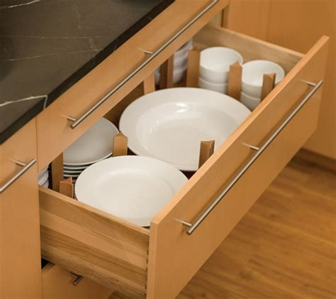 Plate Drawer Dividers by Kitchen Redesign Tips Creative Organization Ideas