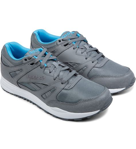 Reebok Bd2854 Grey White 39 reebok grey white blue ventilator reflective shoes in gray