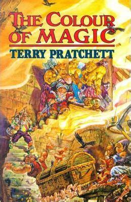 the color of magic book the colour of magic terry pratchett 9780861403240