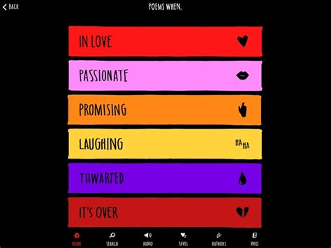 themes surrounding love the love book for ipad great words on love from great