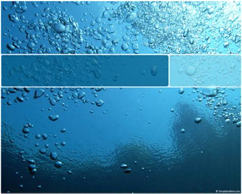 water template 40 cool microsoft powerpoint templates and backgrounds