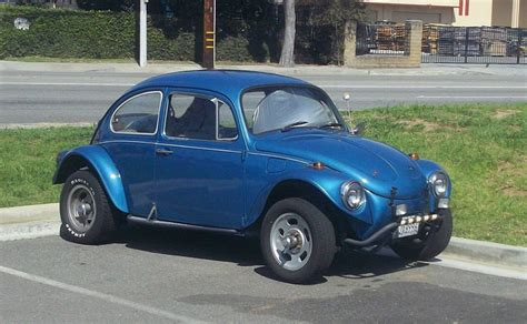 baja bug lowered curbside 1968 baja bug simple design a great car