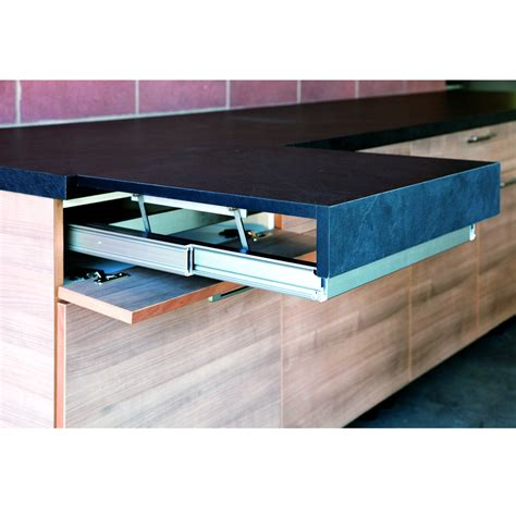 pull out desk extension opla top pull out surface flush with worktop 900mm
