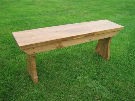 Handmade Benches - handmade antique reclaimed pine bench