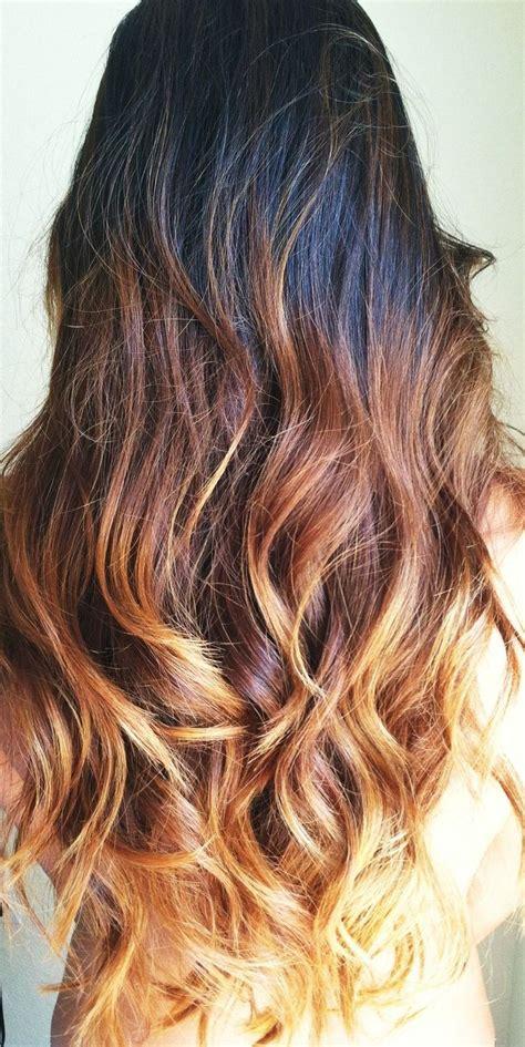 ambre hair super cute hair ombre hair pinterest