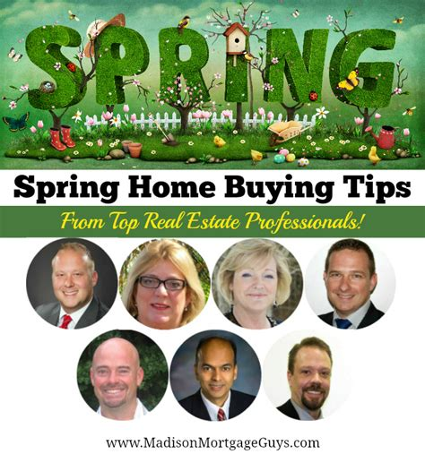 spring home tips spring home buying tips for first time home buyers