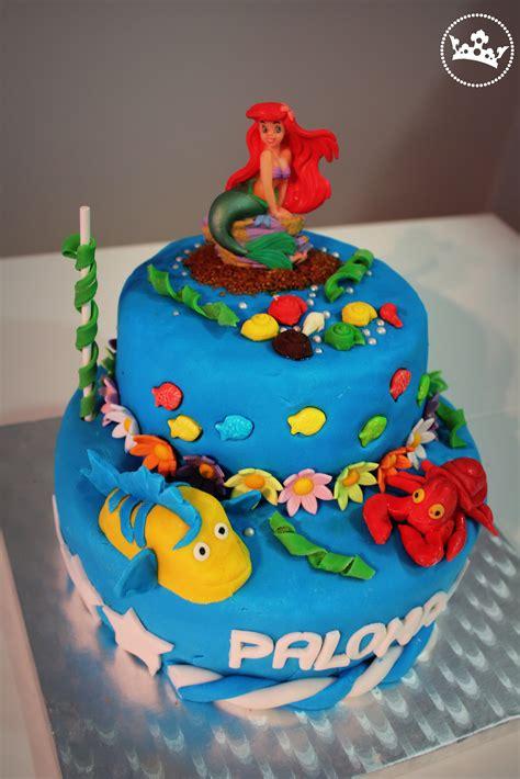 como decorar un pastel de la sirenita ariel pasteles decorados de la sirenita imagui