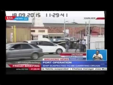Stopl Squad Ulir Led special forces led by recce squad comb suspected ship at mombasa port