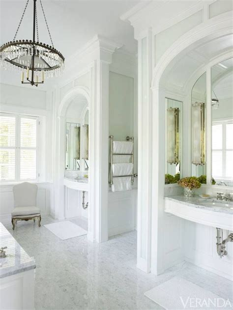 veranda magazine bathrooms master bathroom separate vanities my dream home ideas
