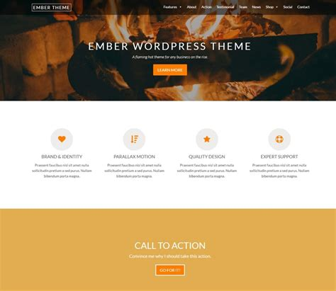 45 best free wordpress themes and templates for 2017