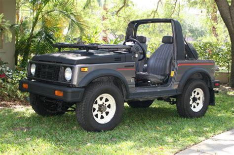Suzuki Convertible 4x4 Js4jc51c4g4110986 1986 Suzuki Samurai 4x4 Convertible