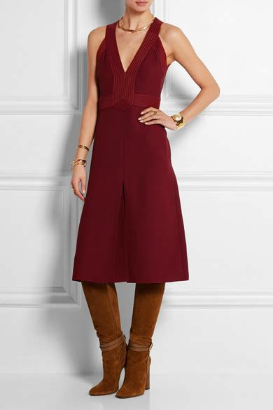 Friday Afternoon Dresses From Net A Porter by Gucci Silk Cady Midi Dress Net A Porter
