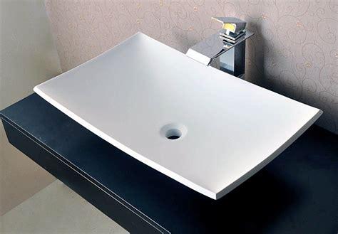 corian aufsatzbecken aufsatzwaschbecken shannon aus steinguss matt wie corian
