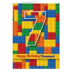 happy 7th birthday cards happy 7th birthday card templates postage invitations photocards more