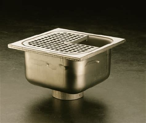 jr smith floor sink 9691 9699 14 gage stainless steel floor area indirect