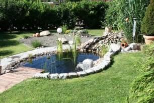 gartengestaltung selber planen gartenteich anlegen bepflanzen pflegen sch 214 ner wohnen