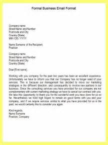 Business Letters In Email Email Business Letter Template Formal Business Email Format Email Wmmntwz The Best Letter Sle