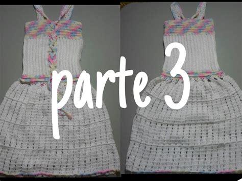 vestido de abanicos para ni 241 a parte 2 la falda vestido blanco crochet parte 3 de 3 vestido blanco