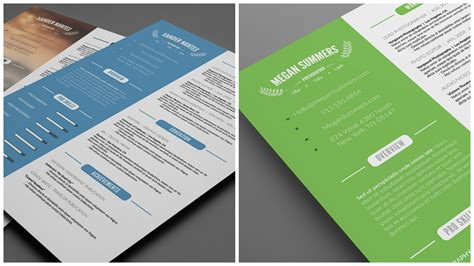 Resume Design Inspiration by 70 Well Designed Resume Exles For Your Inspiration