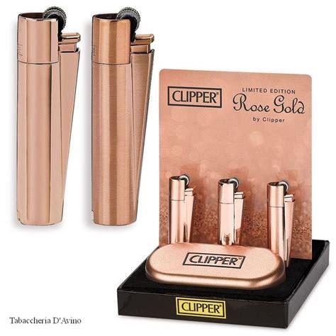 24196 Zippo Original Ace clipper accendino gold limited edition tabaccheria