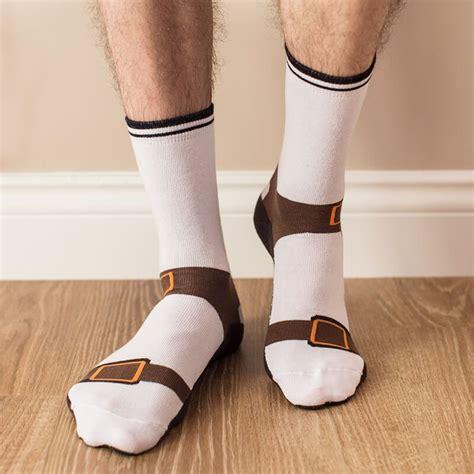 Unisex Bathroom Ideas by Sandal Socks Buy From Prezzybox Com