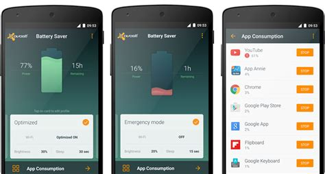 battery saver for android mobile avast battery saver for android