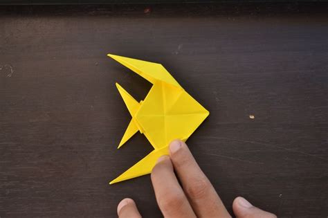 How To Make A Origami Fish - 25 best ideas about origami fish on origami