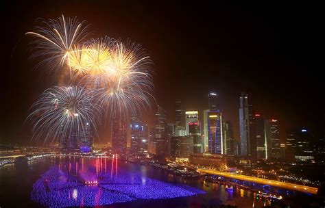 new year concert singapore revelers start ringing in 2014 with fireworks toledo blade