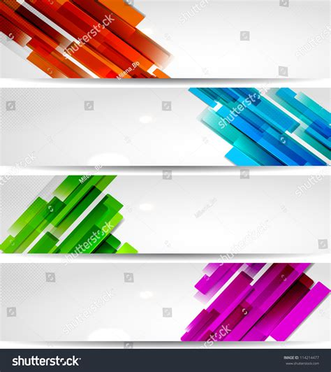 banner shutterstock abstract banner stock vector 114214477 shutterstock