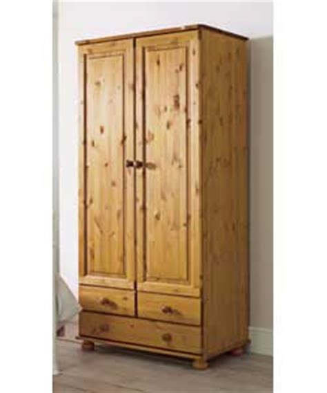 Ready Assembled Wardrobes Uk by Wycombe 2 Door Plus 3 Drawer Wardrobe Ready Assembled
