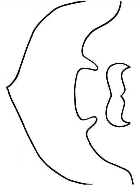 Drawn Beard Stencil Pencil And In Color Drawn Beard Stencil Printable Beard Shaping Template