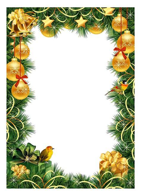 christmas borders frames printable